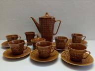 Serwis kawowy 6 osób porcelit Chodzież