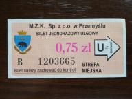 bilet u99 Przemyśl rew. FIAT