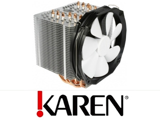 Thermalright HR-02  Macho Black White od Karen