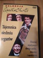 Agatha Christie Tajemnica siedmiu zegarów dvd