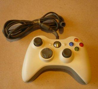 JoyPad Xbox 360 Biały Przewodowy BCM