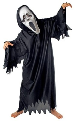 4554b2e874459a Strój KRZYK DLA DOROSŁYCH kostium Halloween EK - 6442428217 ...