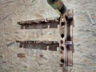 SZAFKA NA WINO półka prawa lewa drewniana opalana