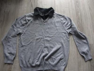 NEXT cienki sweter z kołnierzykiem 2w1 r. M