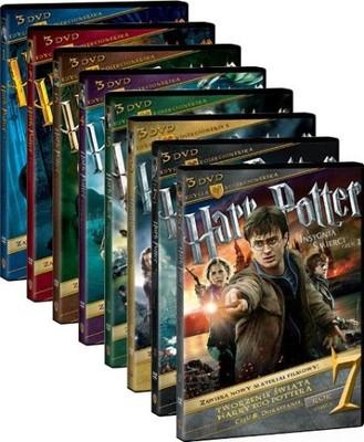 24 Dvd Harry Potter 8 Czesci Edycja Kolekcjonerska 6779337293 Oficjalne Archiwum Allegro