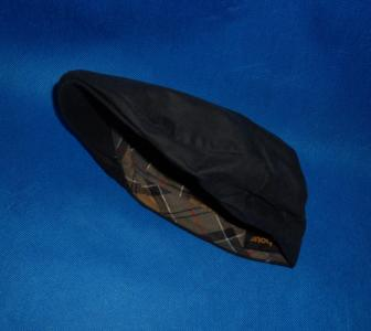 BARBOUR Waxed Cotton Flat Cap Men Kaszkiet 7 56