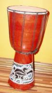 DJEMBE Bongos 50 cm malowane za 130,00 zł
