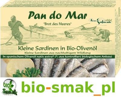 SARDYNKI W BIO OLIWIE Z OLIWEK 120 g PAN DO MAR