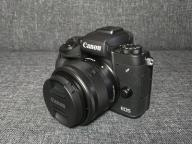 Canon EOS M5 15-45 IS adapter EF-M