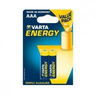 Baterie alkaliczne Varta R3 (AAA)2szt. energy