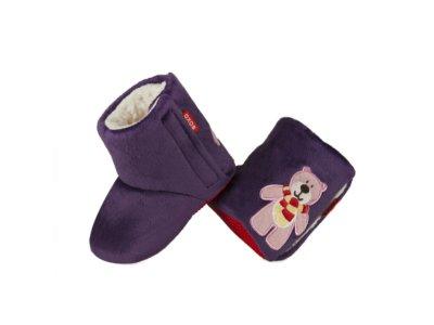 Kapcie niemowlęce SOXO ciepłe kozaczki