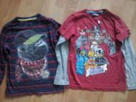2 x super t-shirt - 122cm-