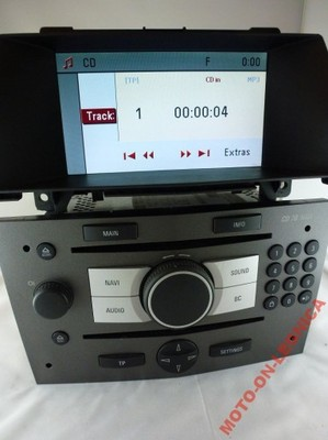 radio cd 70 navi opel astra h 3 zafira b lcd cid. Black Bedroom Furniture Sets. Home Design Ideas