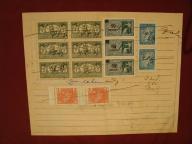 znaczki OPŁATY SĄDOWEJ - 1939 r. - ( 13 sztuk )