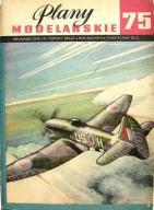 Plany Modelarskie PM 75 Hawker TEMPEST