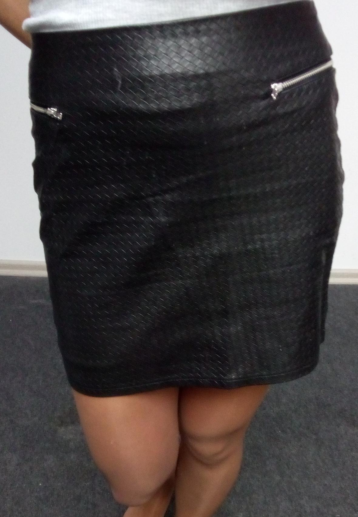 33c4ffd745 czarna mini spódniczka 36 H M - 7015562728 - oficjalne archiwum allegro