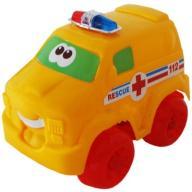 WESOŁE AUTO samochód z napędem Ambulans KARETKA