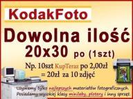 ODBITKI 20x30 DOWOLNA ILOŚĆ Kodakfoto Extra Cena