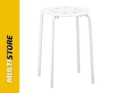 IKEA MARIUS stołek biały
