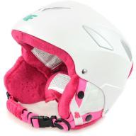 4F Kask narciarski dziecięcy JKSD001 - Biały - S