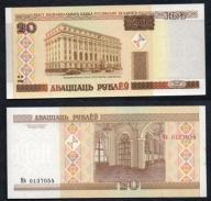 Białoruś 20 rubli 2000 rok. BANKNOT.