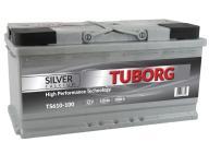 AKUMULATOR TUBORG SILVER CALCIUM 110AH 1000A P+