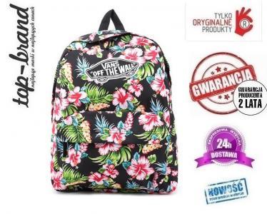 vans plecak w kwiaty