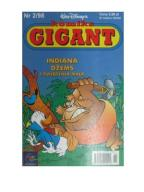 Komiks Gigant Indiana Dżems i świątynia małp *