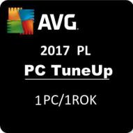 AVG PC TUNE UP 2017 1Pc