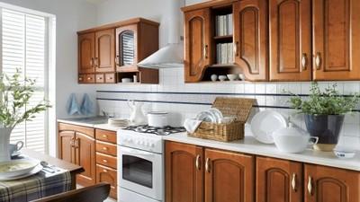 Kuchnia Meble Kuchenne 26m Fronty Drewniane 24h 6802480322