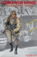 Dragon 1611 German MG 42 Gunner (Normandy 1944)