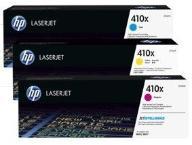 HP Toner 410X 3-pack CMY 5k CF252XM