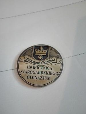 Medal - 120 rocznica starogardzkiego gimnazjum