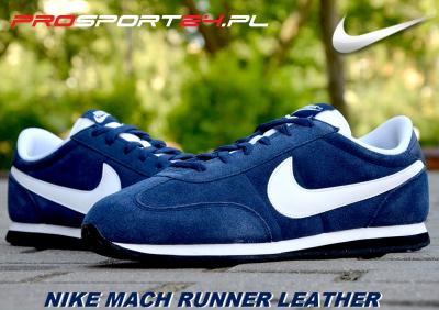 new product 1434c 3ee78 BUTY MĘSKIE NIKE MACH RUNNER LEATHER ~r.45 I 44,5
