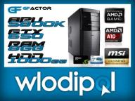 GAMER QUAD APU 4x 4.2GHz 8GB 1TB GRAFA GTX650 DDR5