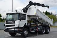Scania 94 310 Wywrotka 5,20 m + HDS Bordmatic 6x4!