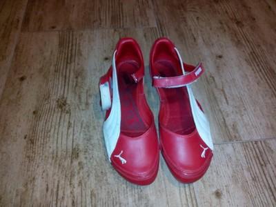 37e71946 buty, sandały, baleriny czerwone puma ferrari - 6759296352 ...
