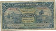 Trynidad i Tobago 1 dolar 1939r. rzadszy