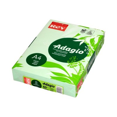 Papier ksero kolor A4 80g zielony Adagio 9