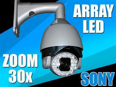 Kamera OBROTOWA zoom x30 sony 540 TVL PTZ noc_80m