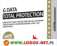 G Data Total Protection 2PC / 1rok G-DATA +GRATIS