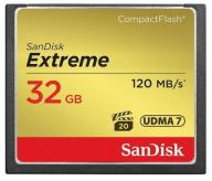 Karta SanDisk Compact Flash 32GB EXTREME +120MB/s