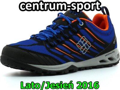 Niebieskie lekkie dziecięce buty sportowe Razor | DKF316_58J