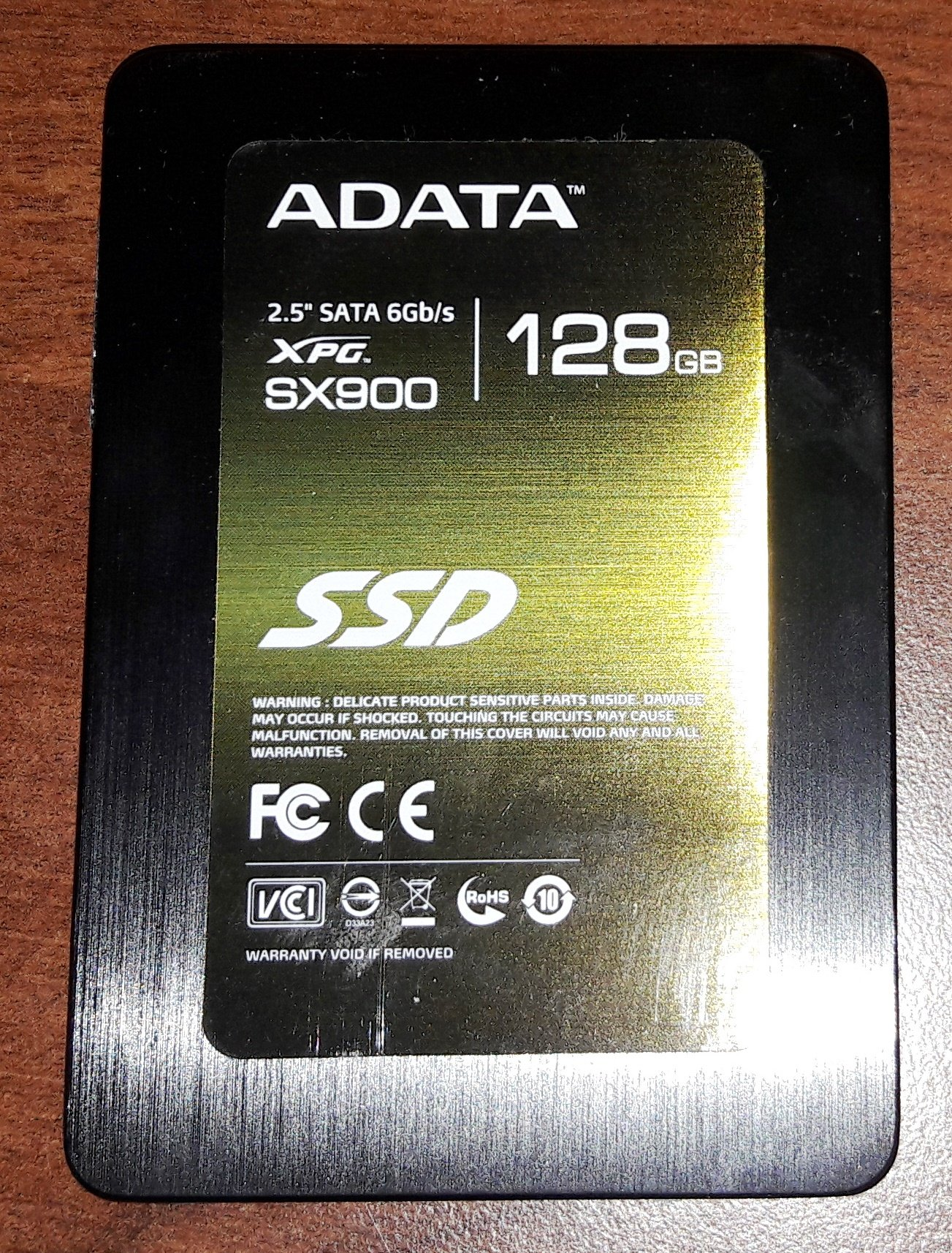================== ADATA SX900 XPG SATA III 128 GB