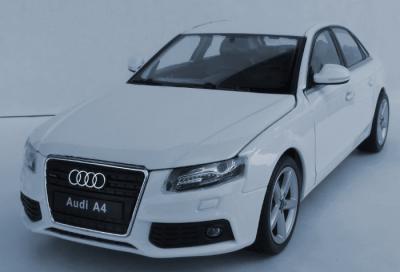 Audi A4 B8 Model Metalowy Welly 124 Biały 5074397151 Oficjalne