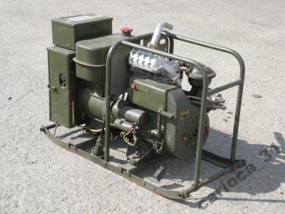 Wojskowy agregat prądotwórczy 230V 4 kW AB-4-T/230