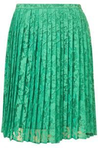 Topshop Spódnica plisowana green