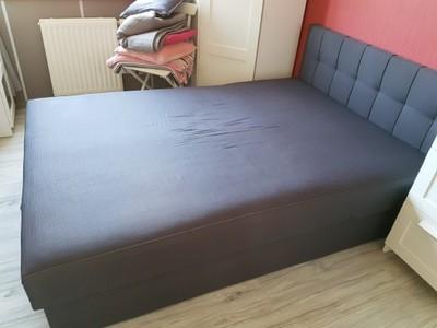 łóżko Lena 140cm Sprężyny Kieszeniowe Agata Meble
