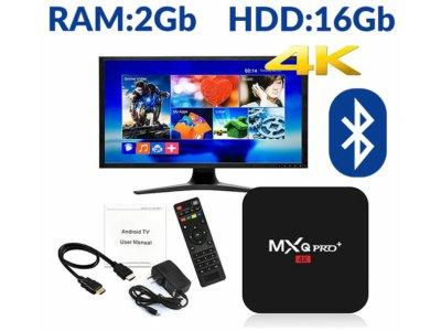 TV BOX MXQ PRO+ 2G/16GB S905X BT4 SMART ANDROID 6