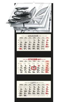 2017 Lux Kalendarz Trojdzielny Trojdzielne 12 Obr 6734740009 Oficjalne Archiwum Allegro